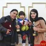 حمیدرضا آذرنگ | بیوگرافی و عکس های حمیدرضا آذرنگ ،همسرش ساناز بیان و پسرش بامداد