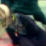 جلاد داعش یک زن را با دست خفه کرد +فیلم(۱۸+)