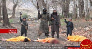 به تازگی تصویری از جنایت جدید «داعش در افغانستان» منتشر شده است.  داعش در «ننگرهار» در اعدام دو عضو ارتش افغ...