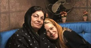 بهاره رهنما با انتشار این تصویر در صفحه شخصی اینستاگرامش نوشت :  «عزیز دلم ، مامان فاطمه مهربونم سفرت سلامت،...