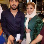 سینا مهراد و ریحانه پارسا بازیگران سریال پدر در حاشیه جشن حاف