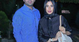 تصویری از علی سخنگو و همسرش سارا نجفی مشاهده می کننید، وی در سریال دلدادگان در نقش پارسا حضور دارد.  ...
