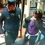 فیلم/ زایمان اجباری یک زن در مترو با کمک پلیس!
