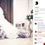عکس/ له شدن هادی کاظمی زیر پای عروس خانم!