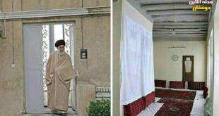 تصاویری از منزل زیبای پدری رهبر در فضای مجازی منتشر شده است که مشاهده میکنید.   عکس سمت راست مربوط به منزل...