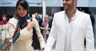سام درخشانی و همسرش عسل امیرپور به بازارچه خیریه رمضان که برای کودکان کار و خیابان برگزار شده بود, رفتند.  س...
