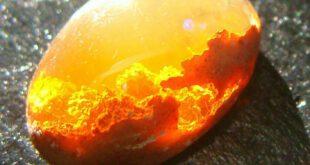 عین الشمس یا همان چشم خورشید! نام سنگی بسیار زیبا هست که برای ان خواص درمانی نیز قائل هستند ... غروب خورشید...
